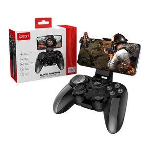 Image 1 - חדש iPega PG 9128 אלחוטי Gamepad bluetooth בקר משחק עבור ios אנדרואיד הטלוויזיה ג ויסטיק בקר pubg בקר