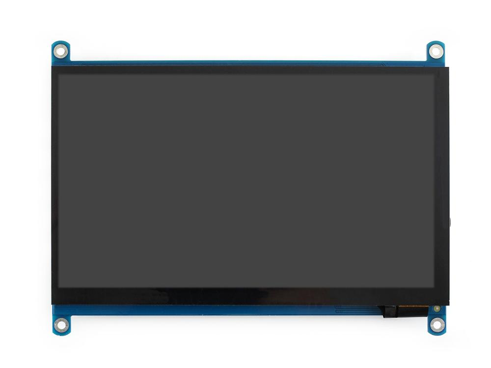 Image 4 - Waveshare 7 inch HDMI LCD (H) Computer Monitor 1024*600 IPS Capacitive Touch Screen Supports Raspberry Pi Jetson Nano Win10  etc-in LCD Monitors from Computer & Office
