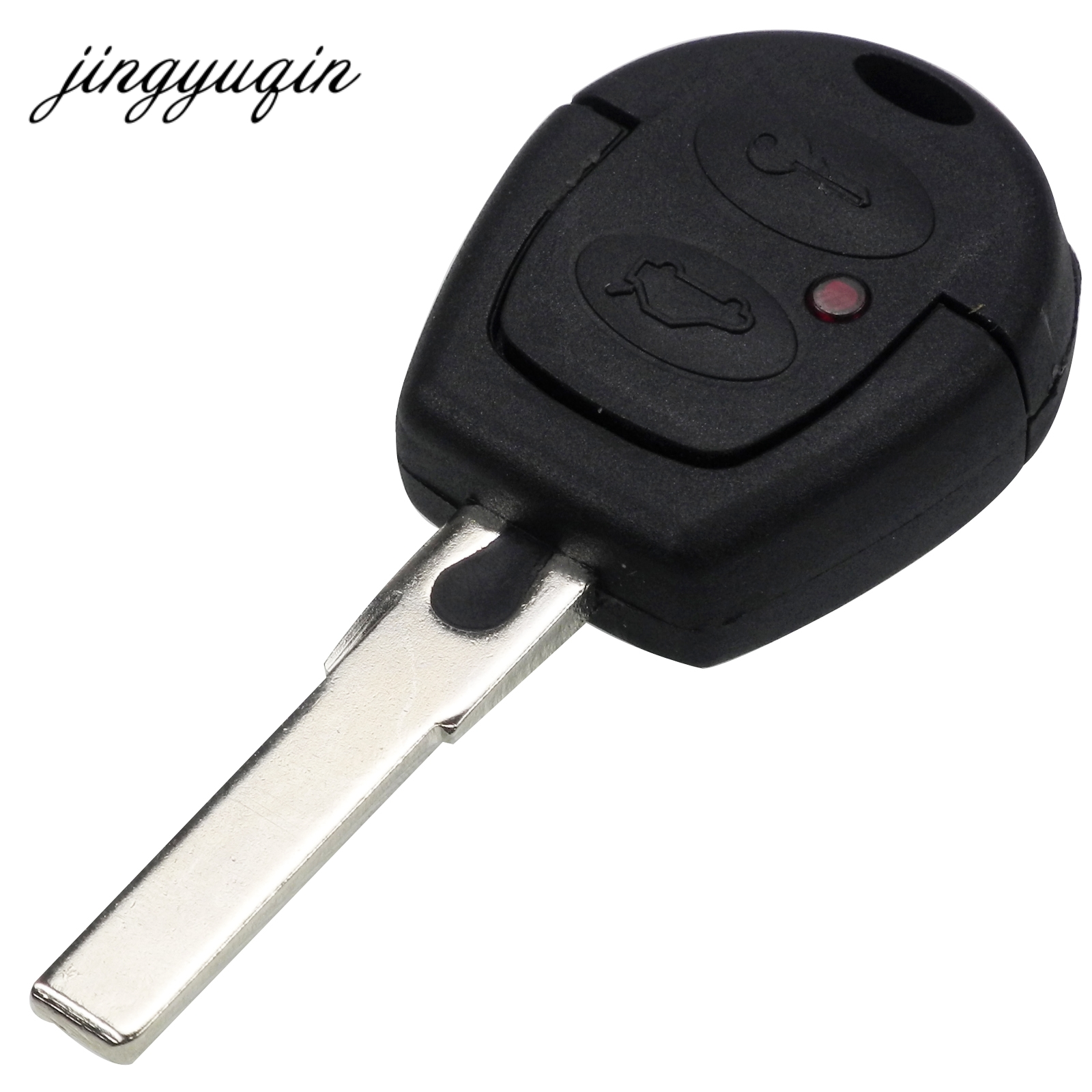 Jingyuqin 10 unids/lote para Volkswagen VW Passat Polo Golf Sharan Bora 2 botones mando a distancia funda fob