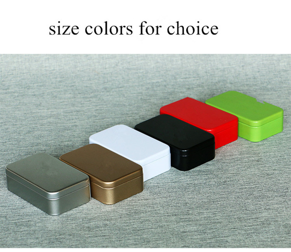size 110x65x32mm rectangle tin box for tea packing soap box candy box promotional gift metal box