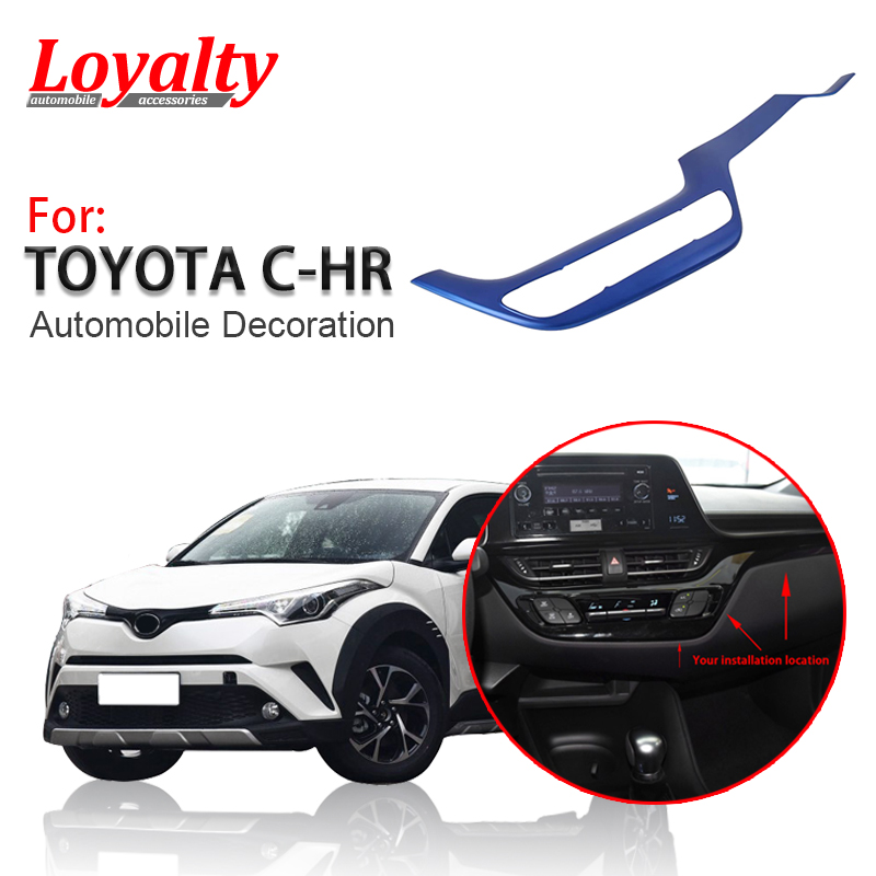 2019 Toyota Chr: Loyalty For Toyota C HR CHR 2017 2018 2019 ABS Blue Center