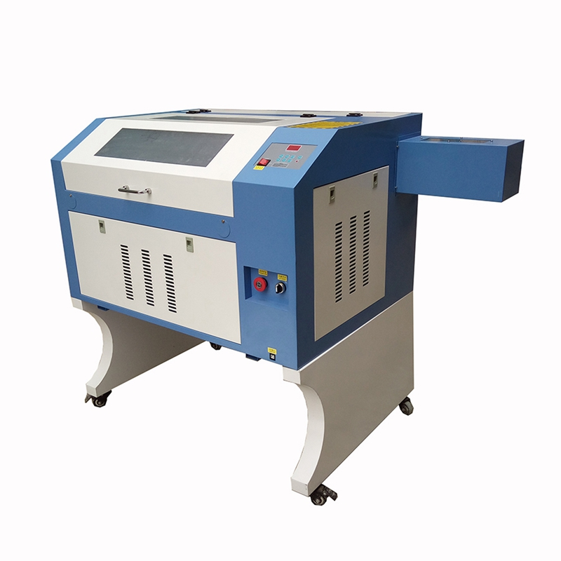 small 6040 co2 laser cutter machines with up-down table 50W good price new <font><b>2019</b></font> image