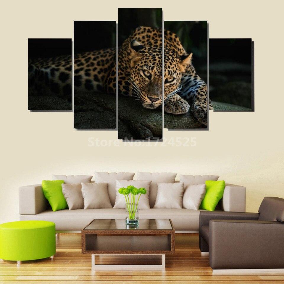 unidades del guepardo africano animal moderno pintura grande hd imagen cuadros decoracion lienzo arte de