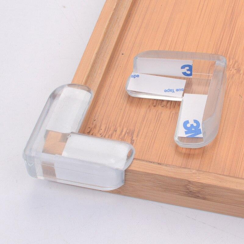 4 шт детский силиконовый защитный чехол для защиты углов стола