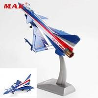 Toys Gift for Kids Children 1/60 J 10 Vigorous Dragon Firebird Diecast Fighter Perform Airplane Aircraft Model Toys for Boys