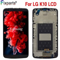 5.3 LCD For LG K10 Display Screen With Frame Digitizer Assembly Display For LG K10 LCD K10 LTE K430 K430DS K420N 420N LCD+Tools