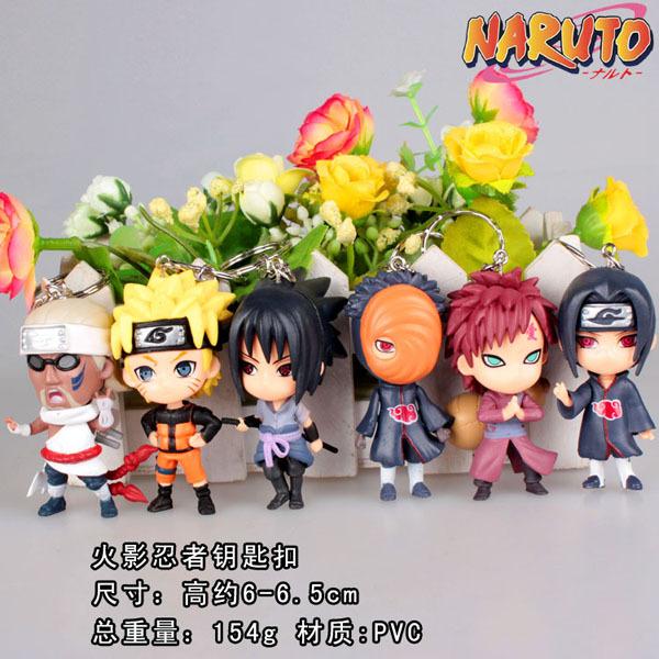 Naruto Keychain Shippuden Sakura Kakashi Pendant Boys Girls Gift Toy