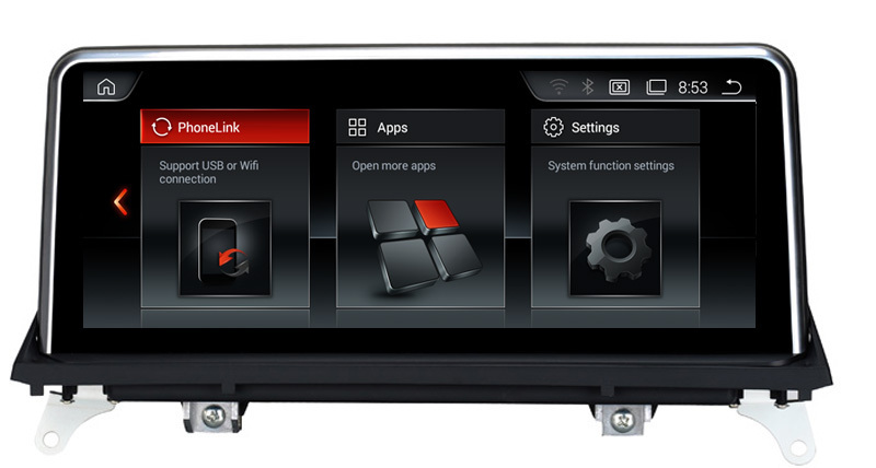 10.25Touch Android Car Raido GPS for BMW X5 E70 (2007 2013)/BMW X6 E71(2007 2014) smart Car Multimedia Player BT SD USB AUX
