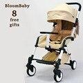 BLOOMBABY Carrinho De Bebê 8 Brindes Ultra Leve Guarda-chuva Dobra Veículo Recém-nascidos Criança Carro Carrinho De Bebê 6 Cores