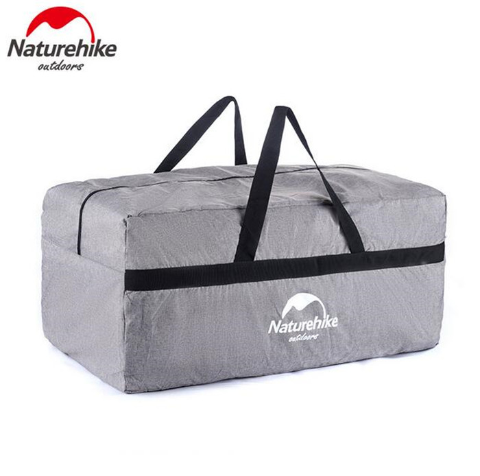 Naturehike Outdoor Durable Storage Bags Ultralight Men Hiking Camping Women Portable Travel Bag Extra Large Capacity 100L yin qi shi man winter outdoor shoes hiking camping trip high top hiking boots cow leather durable female plush warm outdoor boot
