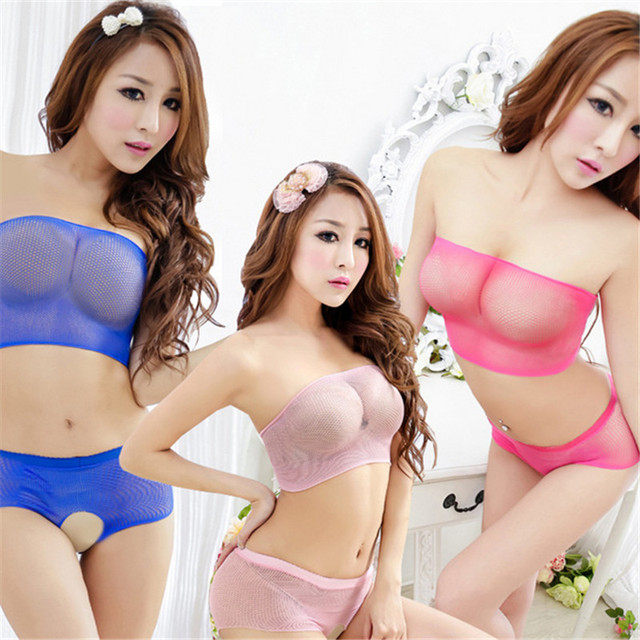 ab07890322c Factory women fancy underwear set erotica lingerie sexy underwear  transparent porn adult sex clothes female outfit hot