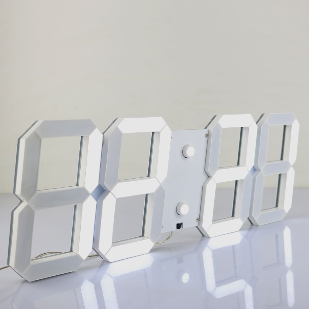 Digitale Wanduhr Groß led wecker digitale wanduhr modernes design elektronische uhr timer