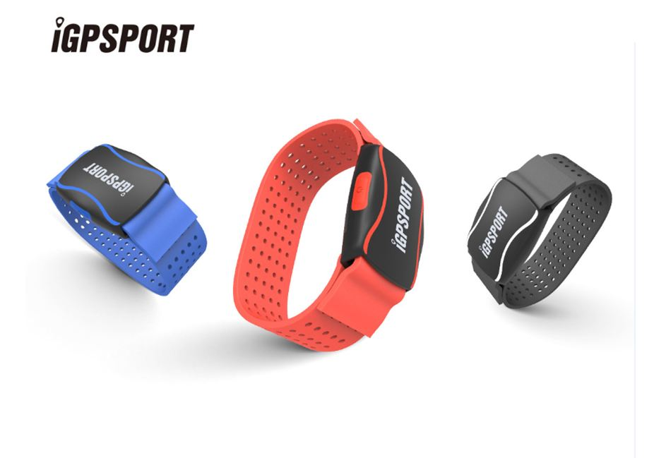 iGPSPORT HR60 Heart Rate Monitor Arm Photoelectric Heart Rate Monitor LED light warning Support bicycle Computer