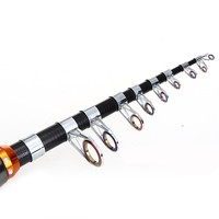 New Arrivals Hot Sale High Quality Durable Carbon Fishing Rod Pole Superhard 7 Section 1 8M