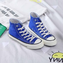 2019 spring and summer new canvas shoes female wild students classic high-top 1970s replica couple casual