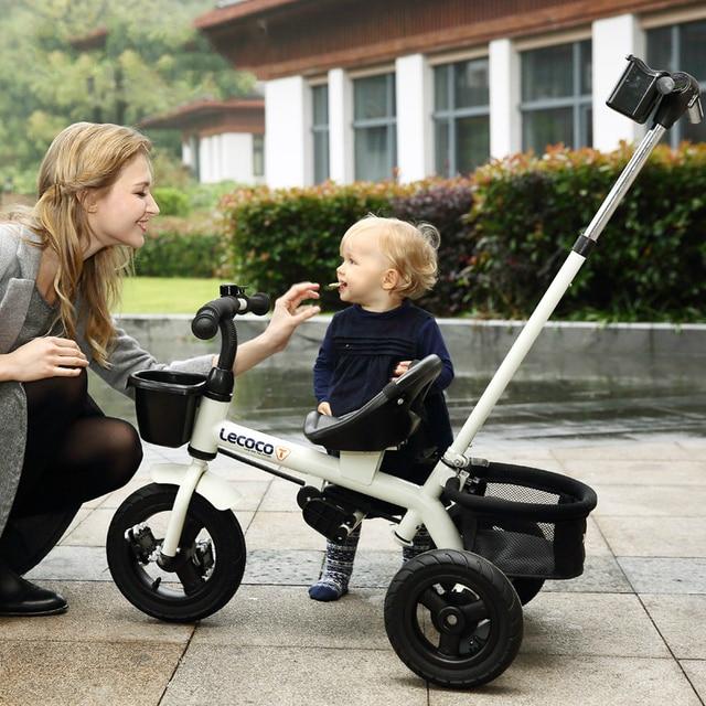 De los niños triciclo bebé cochecito walker-3-5-año-bebé viejo carro cochecito de paseo