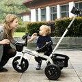 Niños de lujo triciclo bebé bicicleta cochecito andador-3-5-año-viejo carro de bebé cochecito cochecitos
