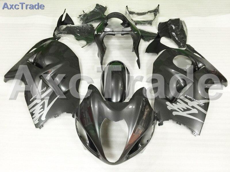 Комплекты мотоцикл Обтекатели для Suzuki GSXR1300 GSXR 1300 Хаябуса 1997 - инъекции 2007 97 - 07 ABS обтекатель кузова комплект черный