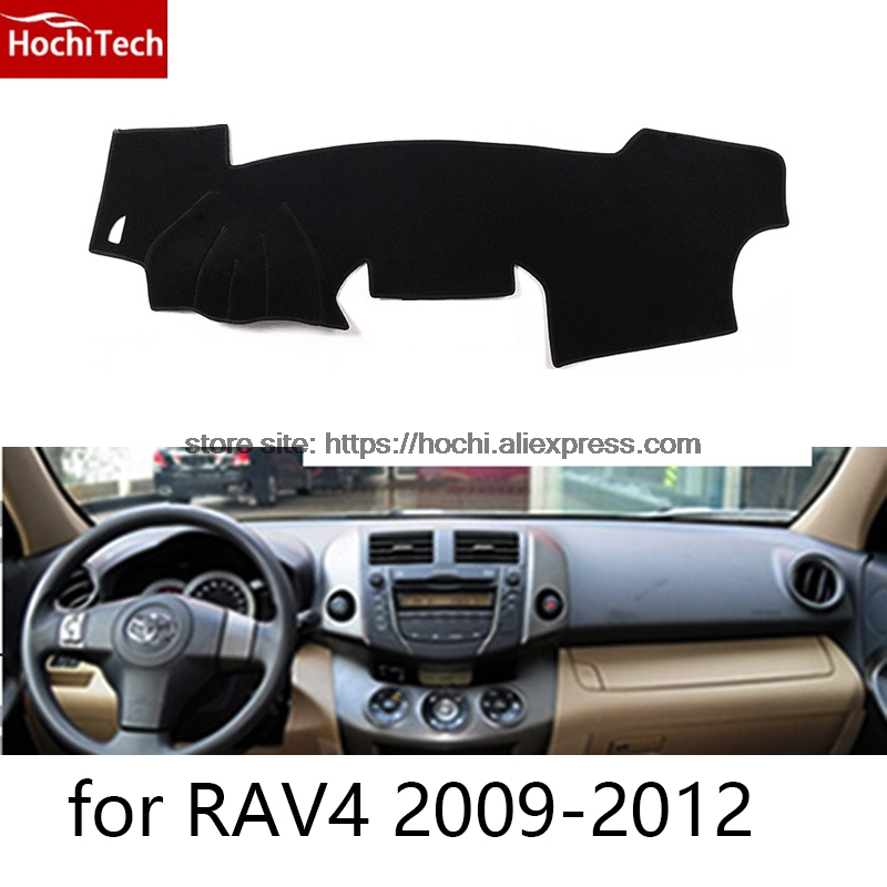 dashboard mat Protective pad Shade Cushion Photophobism Pad car styling accessories for toyota RAV4 2009 to 2016 special car trunk mats for toyota all models corolla camry rav4 auris prius yalis avensis 2014 accessories car styling auto