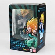 New 16cm Dragon Ball Gotenks Figuarts Super Saiyan 3 PVC Anime Dragonball DZB Figure Toy