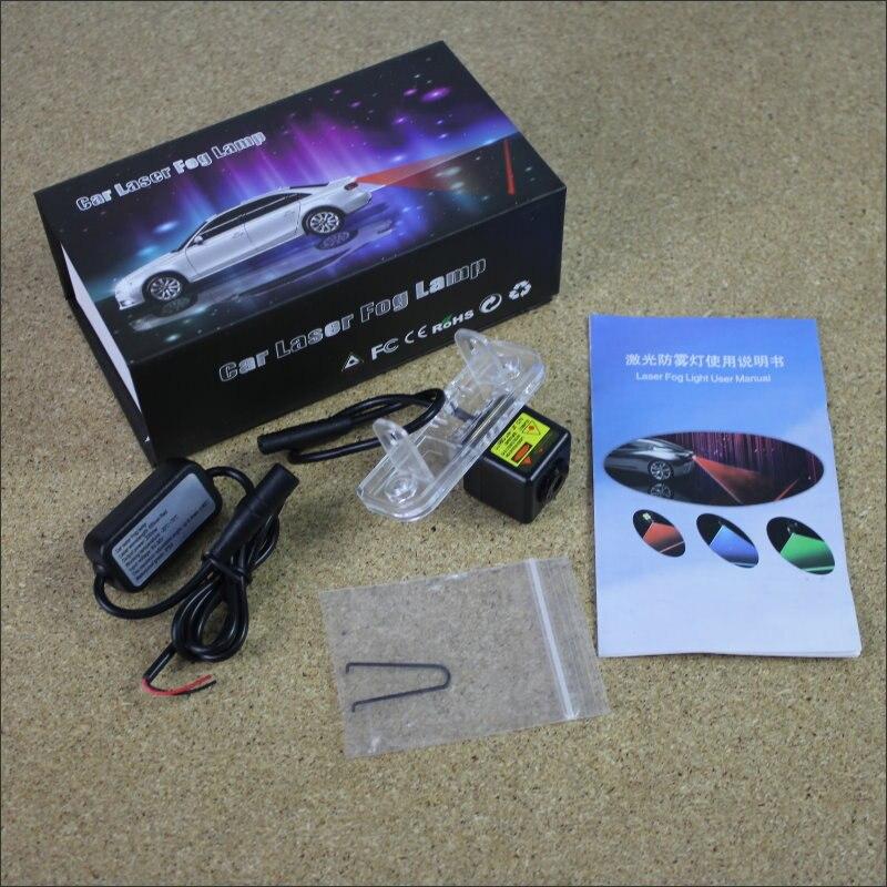 Anti Collision Laser For Mercedes Benz C Class W203 5D 2001~2007 Prevent Mist Fog Lamps Laser Anti Haze Lamp Warn Rear Light