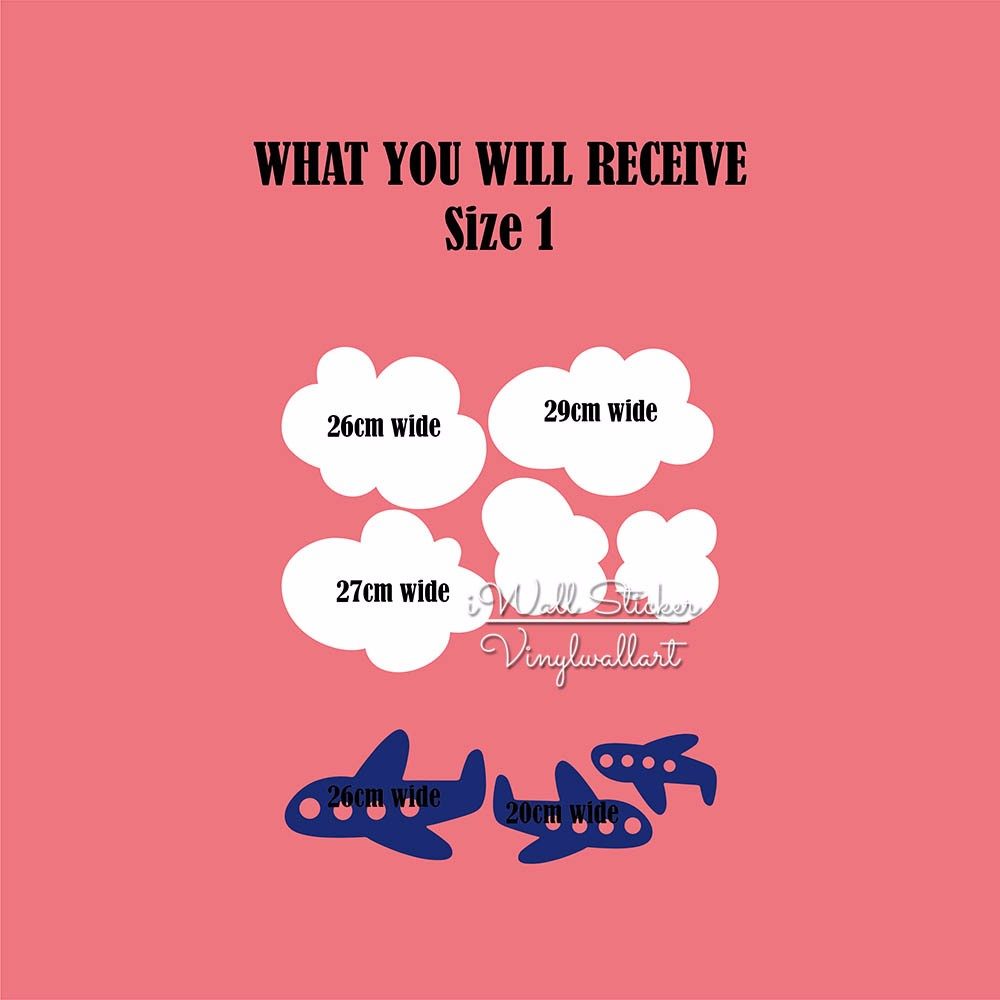 WHAT YOU WILL RECEIVE - SIZE 1
