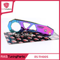 Neo chrome contraseña jdm rear tow hook fit para honda civic integra rsx con logo rs-th005
