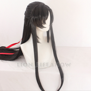 Image 3 - Grandmaster of Demonic Cultivation Wei Wuxian Cosplay Hair Wig Factory 110cm long