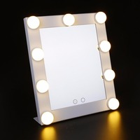 Vanity Illuminato Hollywood LED Desktop di Luce Regolabile Specchio Per Il Trucco immer Stage Beauty Touch Contral