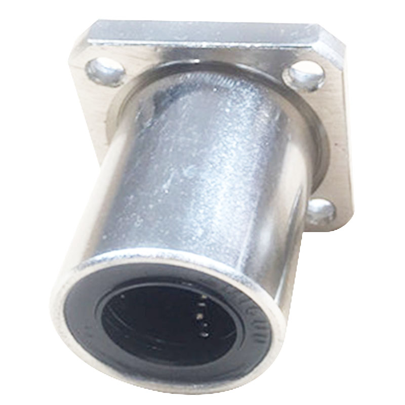 WSFS Hot 8mm Inner Diameter Square Flange Linear Motion Bushing Ball Bearing LMK8UU lmh12uu 12mm inner dia oval flange mounted linear motion bushing ball bearing