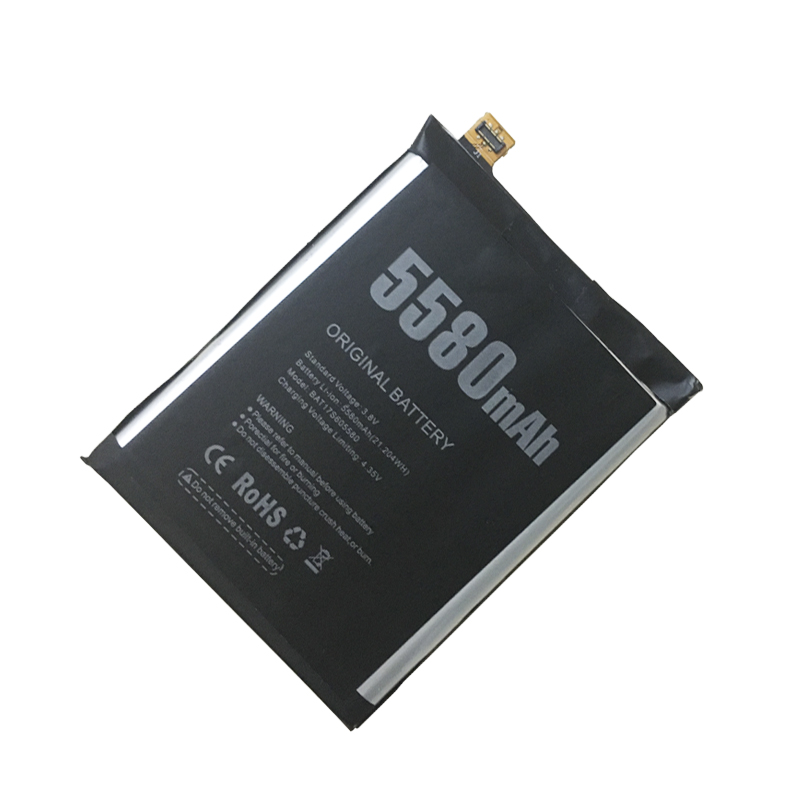 Hekiy Original New For <font><b>Doogee</b></font> <font><b>S60</b></font> <font><b>Battery</b></font> 5580mAh Polymer Li-ion 3.8V <font><b>Batteries</b></font> For <font><b>Doogee</b></font> <font><b>S60</b></font> Phone BAT17M15580 image