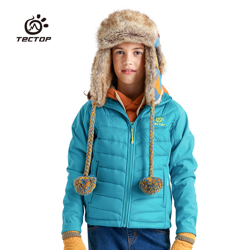 Child tectop paragraph cotton-padded coat windproof water thermal slim child cotton-padded coat drumohr головной убор