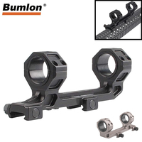 AR15 M4 M16 Defense Rifle Optical Scope Mount 25.4mm 30mm Picatinny Weaver Rail 20MM with Bubble Level 2 0028