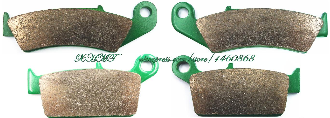 Brake Pads Set for HONDA CR125 CR 125 RH -J-K-L / CR250R CR250 CR 250 R 1987 1988 1989 1990 1991 1992 1993 1994 motorcycle front and rear brake pads for honda cr125r cr250r cr500r cr 125 250 500 r 1987 2001