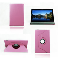 2014 NEW Z2 Tablet Stand Rotate PU Leather Case For Sony Xperia Tablet Z2 Case 8Color