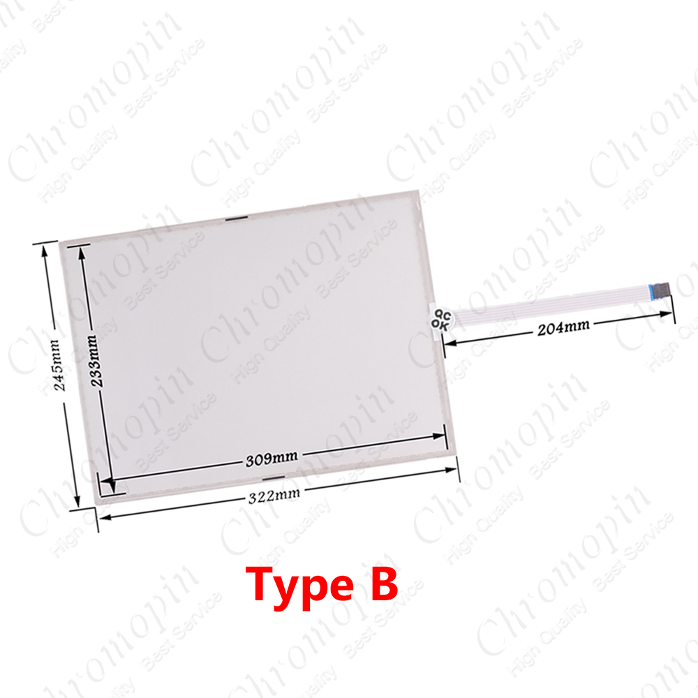 Details about  /One for AMT 70063 AMT70063 AMT-70063 touch screen glass digitizer for repair