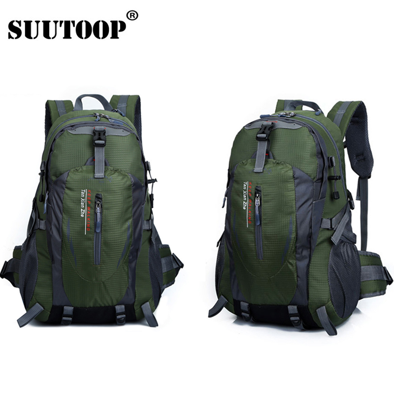 Unisex Men Backpack Travel Pack Sports Bag Pack 2019 Waterproof Outdoor Mountaineering Hiking Climbing Camping Backpack For Male