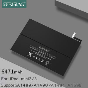 FERISING 2019 New Original Tablet Battery for Apple iPad mini 2 3 A1489 A1490 A1491 A1599 Replacement Bateria Mini2 Mini3 +Tools