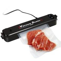 Lifresher 220 V/110 V Domowe urządzenie do szczelnego pakowania żywności opakowanie maszyna do pakowania folii pakowacz próżniowy w tym 15 sztuk torby w Próżniowe przechowywanie żywności od AGD na