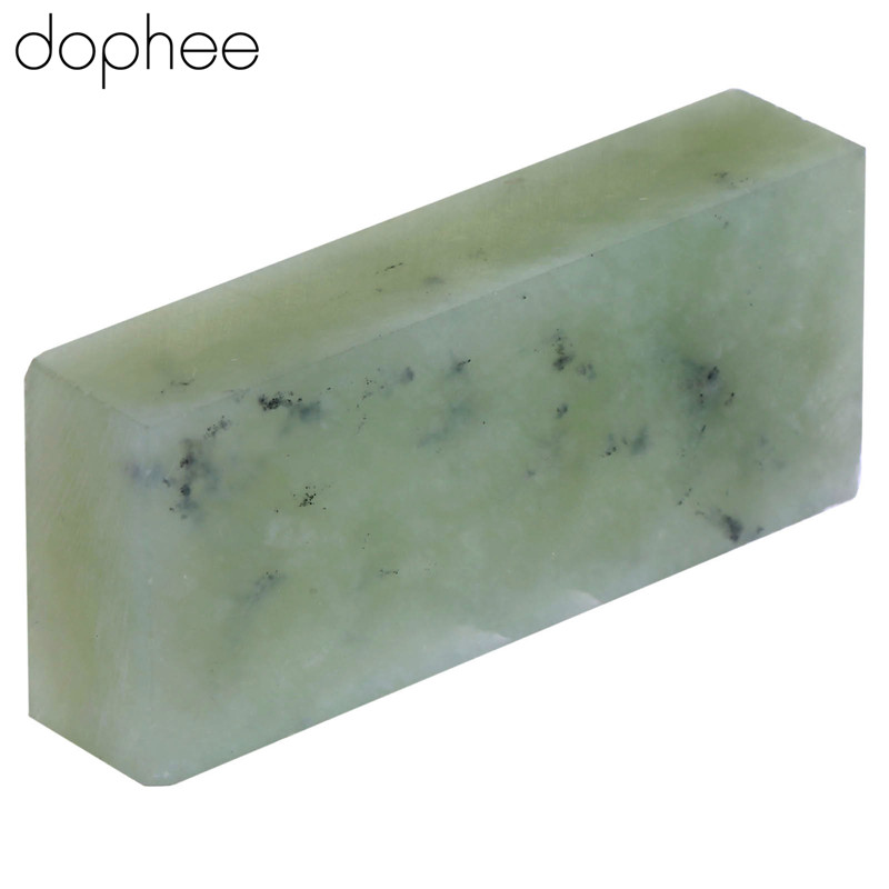 10000# Green Gem Grit Straight Knife Razor Blades Sharpener Sharperning Tool Super Fine Stone Whetstone Oilstone Block Polishing