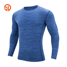 Plus Size XXXXXL T Shirt Men Fashion Couple Fitnes Clothes Long Sleeves Solid Color Quick-drying T-shirt for Men and Women S-5XL