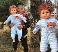 73cm Fashion Doll Silicone Vinyl Baby Doll Reborn Lifelike Babies PP Cotton Cute Girl Babies Kids Birthday Xmas Gift