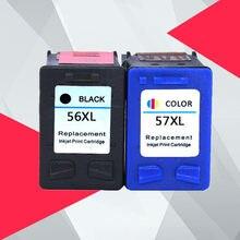 Совместимый чернильный картридж принтера C6656a C6657a для hp 56 57 для hp56 Deskjet 450 450cbi 450ci 450wbt F4140 F4180 5150 5550