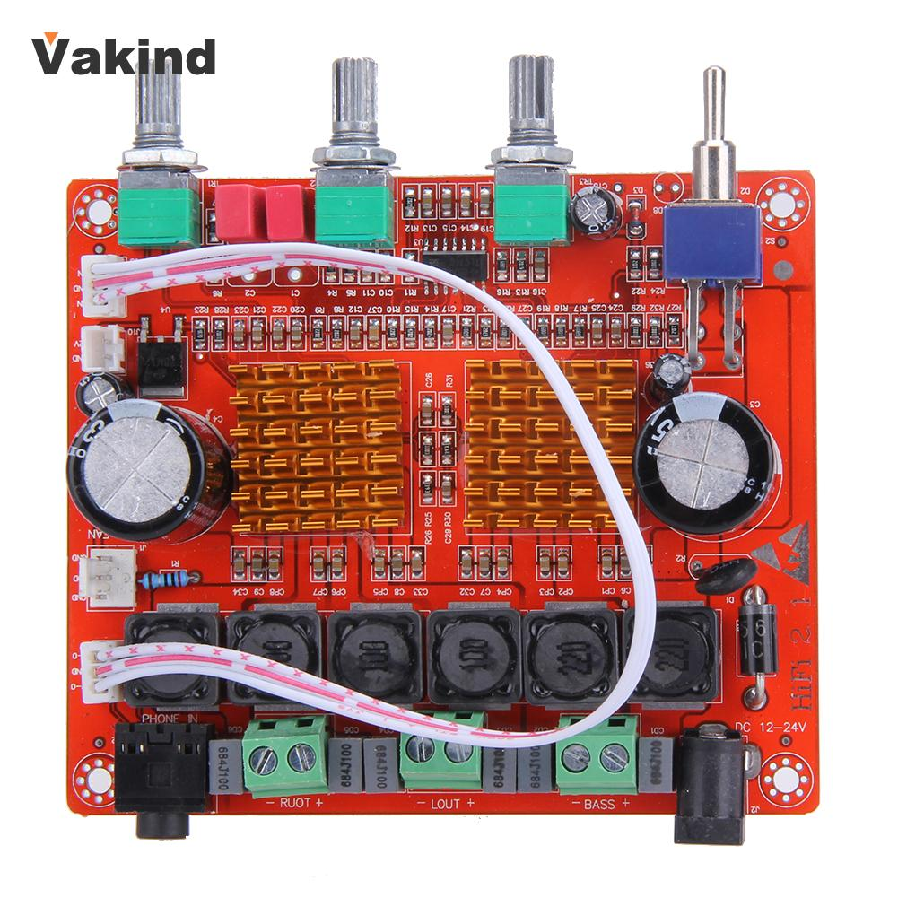 Tpa3116d2 21 12v 50wx2 100w Hifi Digital Subwoofer Amplifier Amp Circuit Board 24v High Quality Promotion