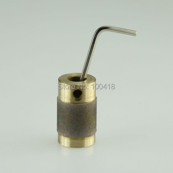 Premium grade lowest price standard 3 4 Diamond Grinder copper Bit for grinding glass