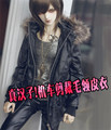 Hot sale ! BJD Doll Clothes 1/6 YOSD DD  Doll & Accessories black coat