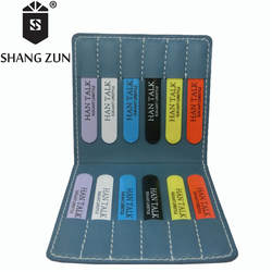 SHANH Зун 12 шт. индивидуальные ABS воротник остается для мужчин рубашка пластик воротник жесткости практические бизнес выпрямитель