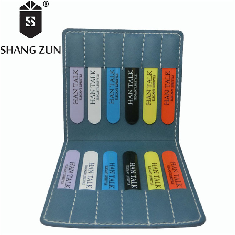 SHANH ZUN 12 Pcs Customized ABS Collar Stays Men's Shirt Plastic Collar Stiffeners Practical Business Collar Straightener