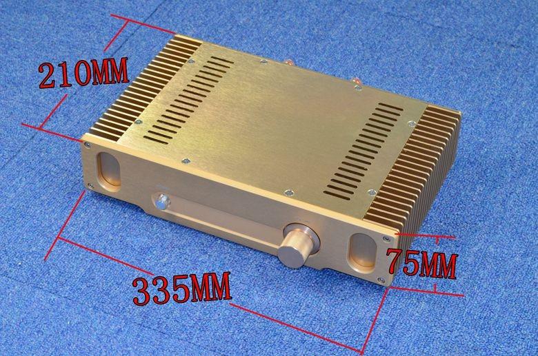 Модернизированная версия Гуда, герметичный Hi Fi усилитель мощности золотого цвета класса a, усилитель готовой мощности amplifier finished class a amplifier finisheda class amplifier   АлиЭкспресс