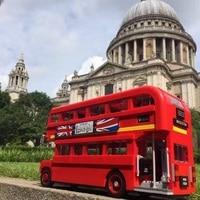 HOT SALE London Bus Building Bricks Blocks Toys For Children Boys Game Model Car Gift Compatible